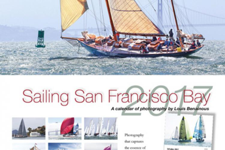The Sailing SF Bay 2017 Calendar