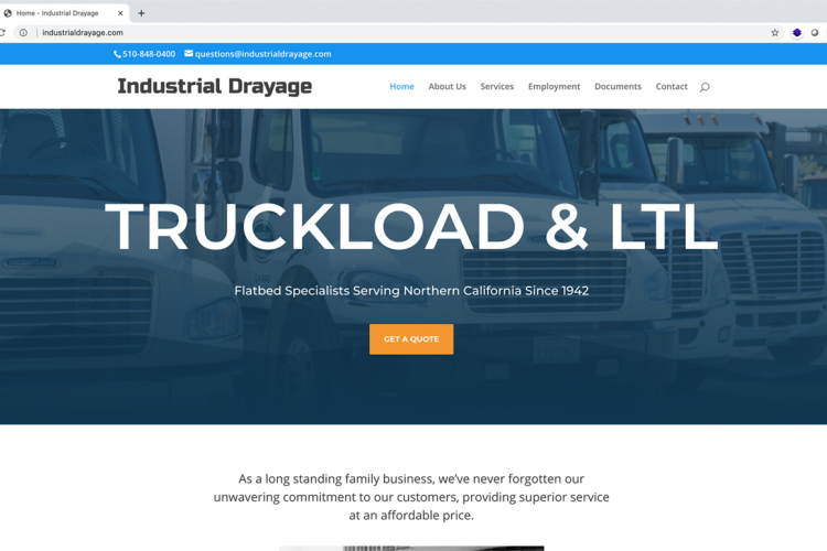 Industrial Drayage Screenshot